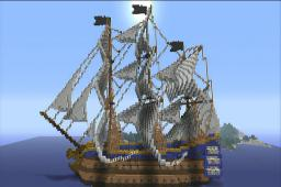 HMS Dragonhunter Minecraft Map & Project