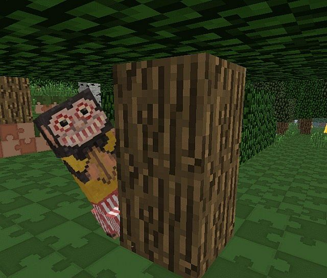 Cymbal monkey behind tree 6581186 [1.9.4/1.8.9] [32x] Toyland Texture Pack Download