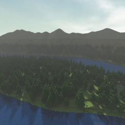 Dag - Mountain And River Valley Minecraft Map & Project