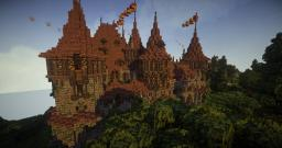 The Carmine Bodega on the Alabaster Coast Minecraft