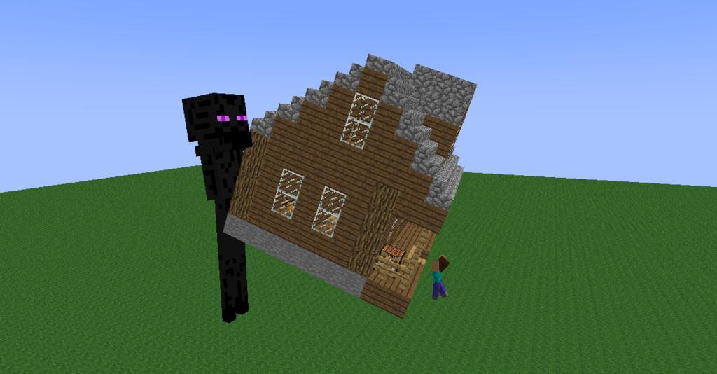 Minecraft Crazy Craft  Skeletons