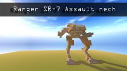 Ranger SR-7 Assault Mech Minecraft Map & Project