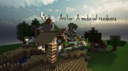 Arkton- A medieval residence Minecraft Map & Project