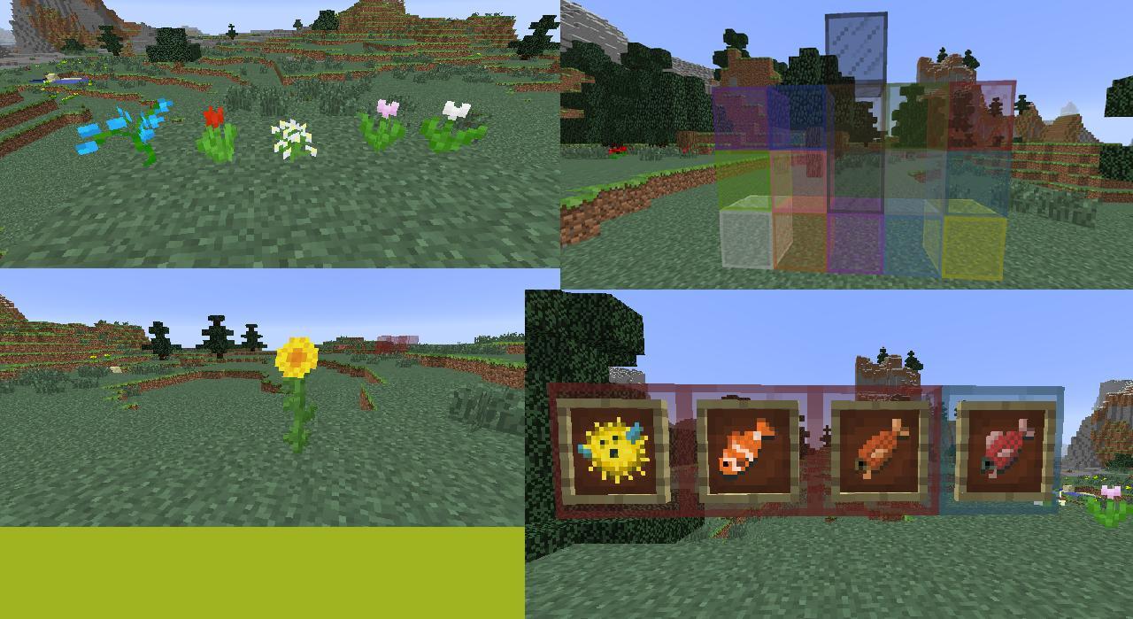 Minecraft 1.7.2 items