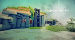 Discerning Shine - Modern Eco Home Minecraft Map & Project