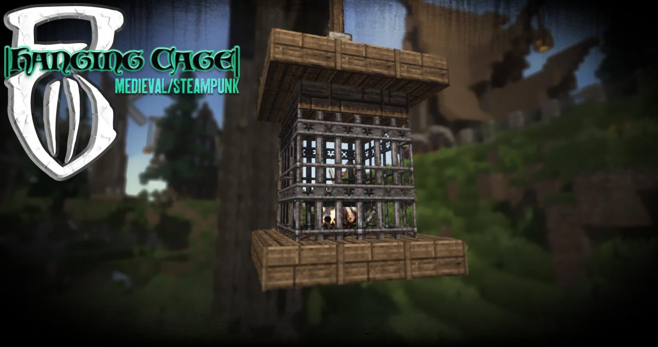 Hanging Cage Myths Of Daedwin Minecraft Project