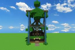 The Tree Temple Minecraft Map & Project