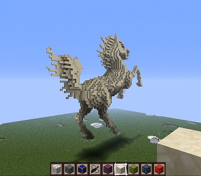minecraft how to change color of horse