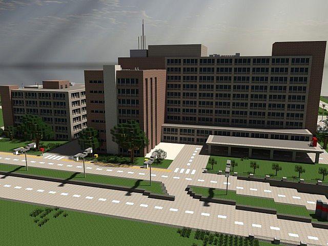 Lapiz Point's Hospital | ECS Minecraft Project
