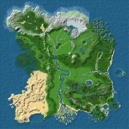 Realistic survival map (3200 x 3200 blocks)
