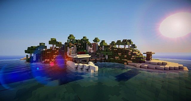 Modern hobbit house by glam minecraft project for Modern hobbit house