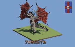 Tobalth - Huge Dragon Minecraft Map & Project