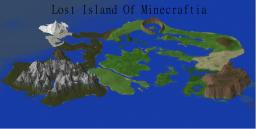 Lost Island of Minecraftia |A custom Terrain| Minecraft Map & Project