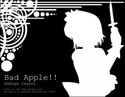Touhou - Bad Apple Minecraft Map & Project