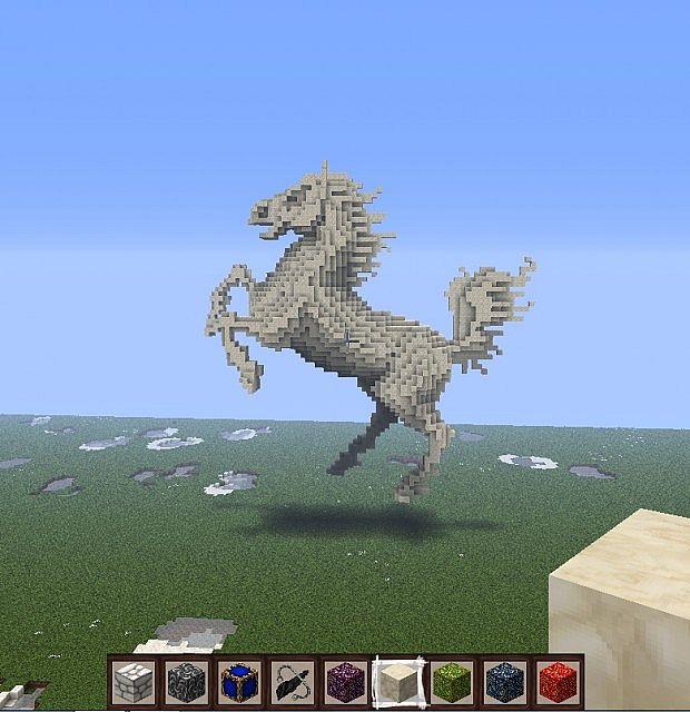 Minecraft Horse Minecraft Project
