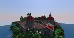 [Mega Build #1] The red Palace [Schematic] Minecraft