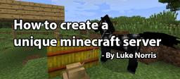 How to create a unique Minecraft server: Introduction Minecraft Blog