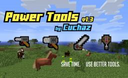 [1.7.10] [1.6.4] Power Tools Minecraft Mod