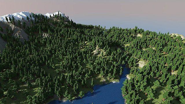 Skyrim Inspired Creative Survival Map Minecraft Map