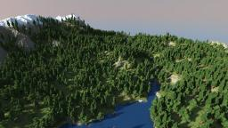 Skyrim inspired Creative/Survival Map Minecraft Project