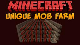 Minecraft: Unique Mob Farm Minecraft Project