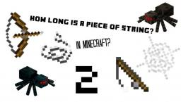 How long is a Piece of String... in MINECRAFT?!  2! Minecraft