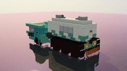 Atompunk Tank Truck Minecraft Map & Project