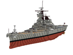 USS MISSOURI ver 1991 Minecraft Map & Project