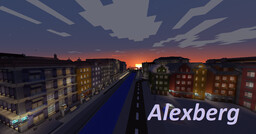 Alexberg - A Realistic City Minecraft Map & Project