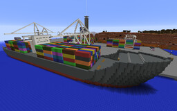 Canyon City Port Minecraft Map & Project