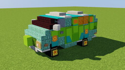 The Mystery Machine Minecraft Map & Project