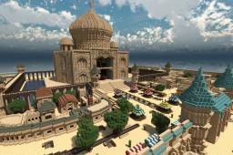 Taj mahal Minecraft Map & Project