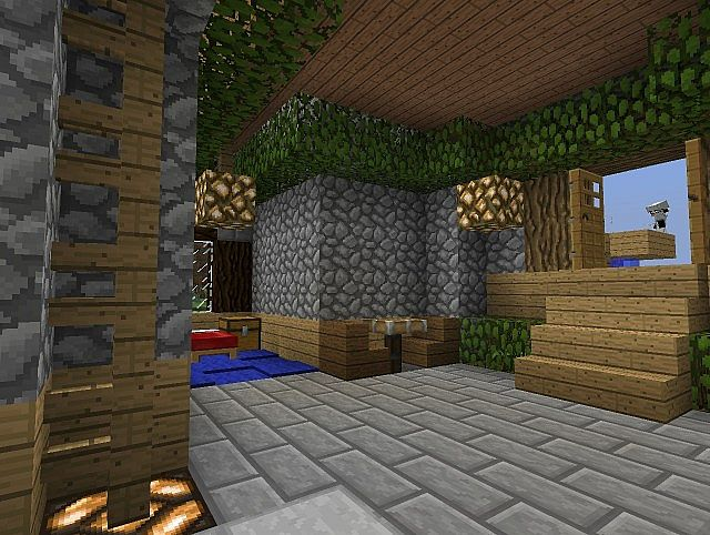 The Log Cabin Of Newmoon Minecraft Project