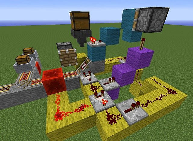 how to make a chest cart in minecraft
