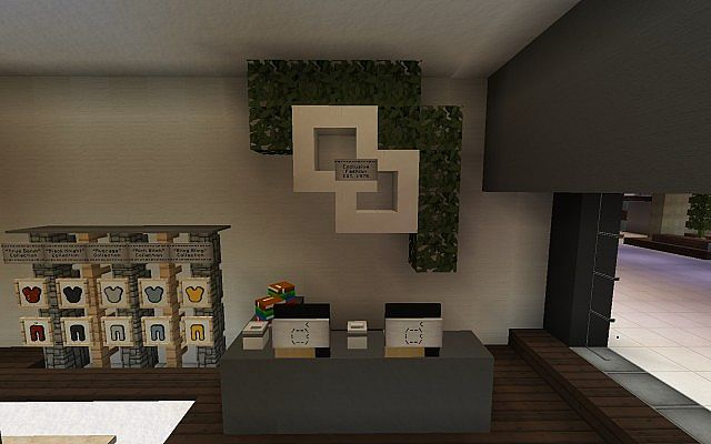 Airport fashion boutique minecraft project for Craft com online shopping