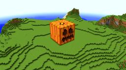 Giant Jack o'Lantern Statue Minecraft Map & Project