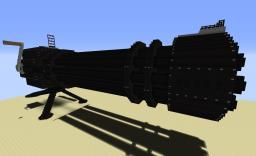 Gatling Gun (With 12 TNT Cannons) Minecraft Project