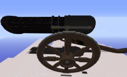 Civil War Gatling Gun (Fires Flaming Arrows) Minecraft Project