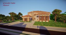 Grande Vista Manor Minecraft Map & Project