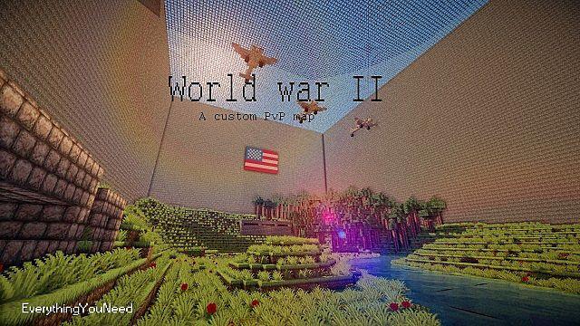 Minecraft world war ii pvp map minecraft project minecraft world war ii pvp map gumiabroncs Gallery