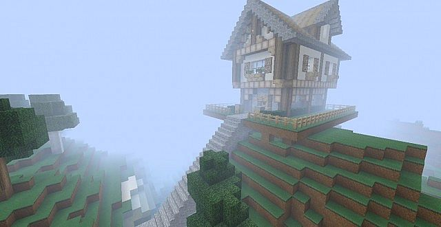 Medevil Hill House Minecraft Project