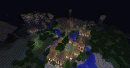 Fort and City [The Old Oak Fort] Minecraft Map & Project