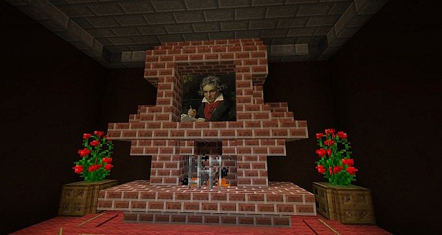 Karazockt 39 s old living room map test minecraft project for A living room in minecraft