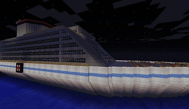Cruise Ship BY FLAPJACK05 [[INSIDE TO BUILD YOURSELF ...