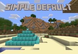 Simple Default Minecraft Texture Pack