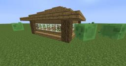 a simple house. with cool windows. Minecraft Map & Project