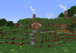 Hobbit hole. Minecraft Map & Project