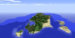 Romantic Island Minecraft Map & Project