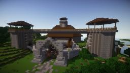 Skyrim Themed Castle Fort Minecraft Project