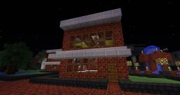 A small cafe Minecraft Map & Project
